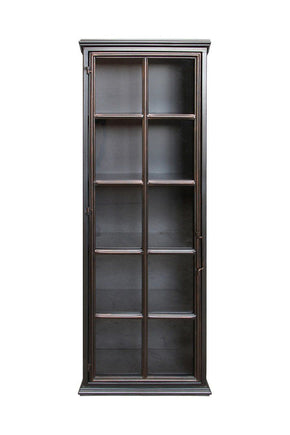 Lazarus Industrial-Style Tall Cabinet
