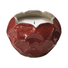 Garnet Blossom Candle - Lg Holder