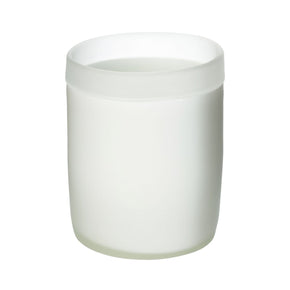 Sanded Frost Votive Candle Holder
