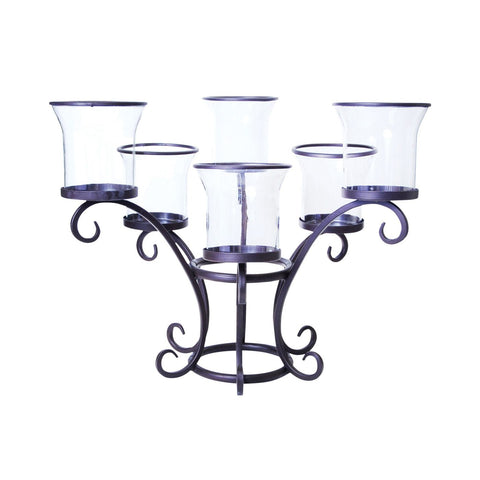 Chelsea Patio Lighting Rustic,clear Candle Holder