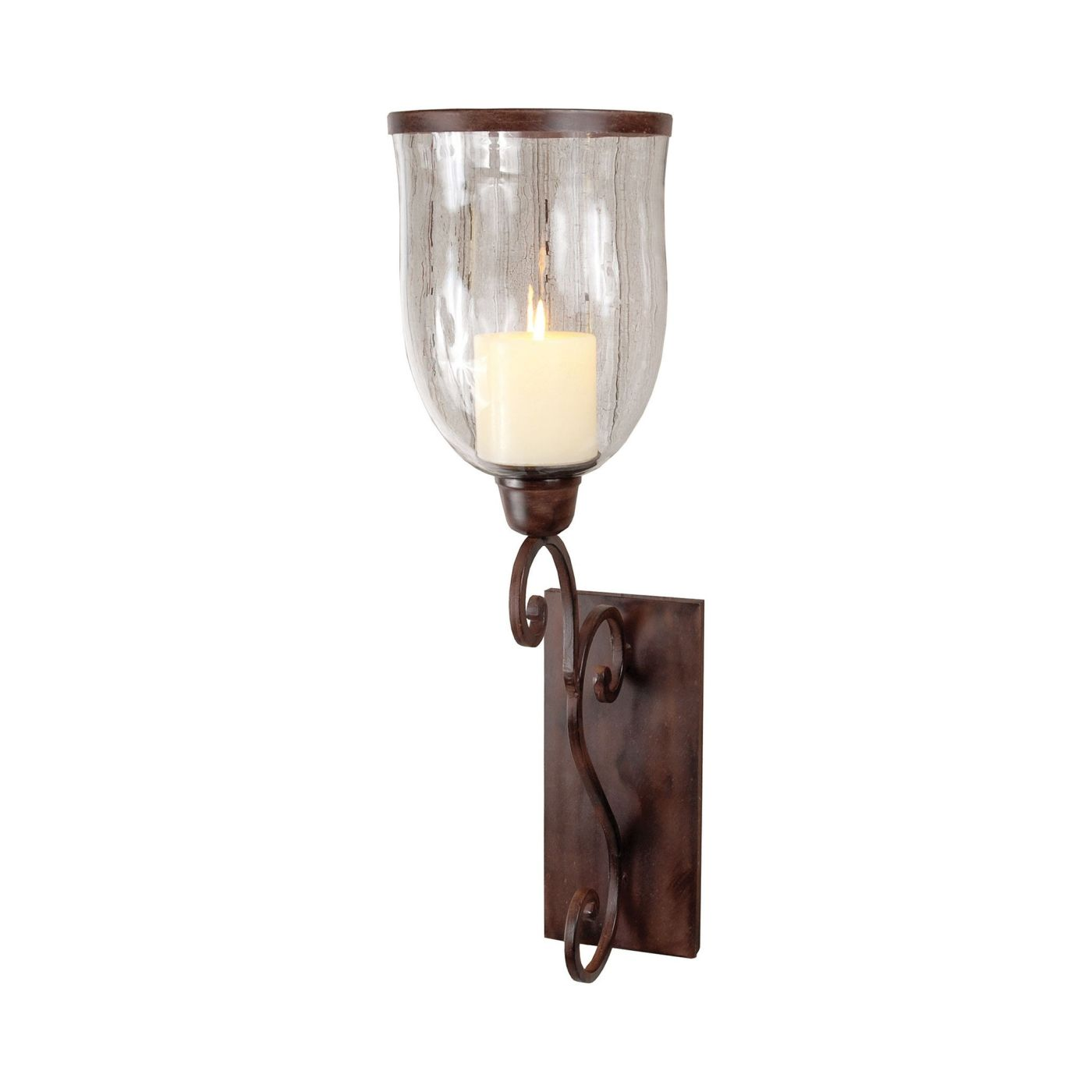 lantern sconce with wall bird hook pin antique candle