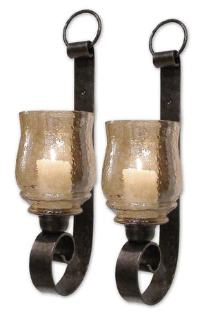 Joselyn Small Wall Sconces Set/2 Candle Sconce