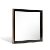 Vig Furniture VGVCJ-A002-M Nova Domus Cartier Modern Black & Brushed Bronze Mirror