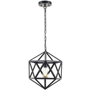 Ceiling Lamps - EdgeMod LS-C110 Geodesic Industrial Modern Pendant Lamp | 641061723141 | Only $147.00. Buy today at http://www.contemporaryfurniturewarehouse.com