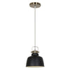 Ceiling Lamps - EdgeMod LS-C169-BLK Mercer Industrial Modern Pendant Lamp in Black | 641061723905 | Only $47.80. Buy today at http://www.contemporaryfurniturewarehouse.com
