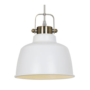 Mercer Pendant Lamp In White Ceiling