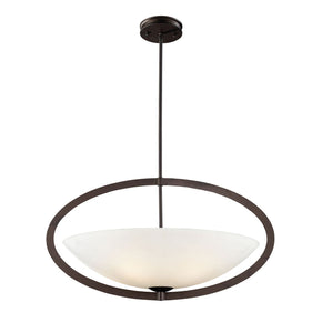 Dione 5-Light Pendant In Aged Bronze Ceiling Lamp