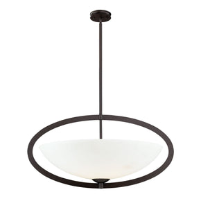 Dione 6-Light Pendant In Aged Bronze Ceiling Lamp