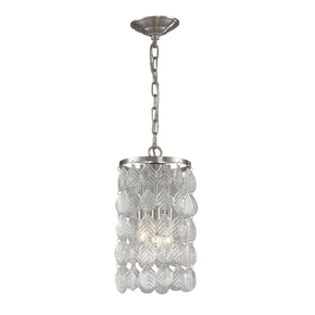 Glass Leaf Pendant Ceiling Lamp