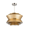 Godnik 1 Light Pendant In Gold Gold