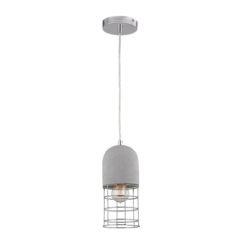 Wardenclyffe Pendant Lamp Polished Concrete,polished Nickel Ceiling