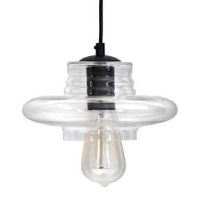 Torus Long Pendant Clear Ceiling Lamp