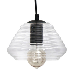 Torus Triangle Pendant Clear Ceiling Lamp