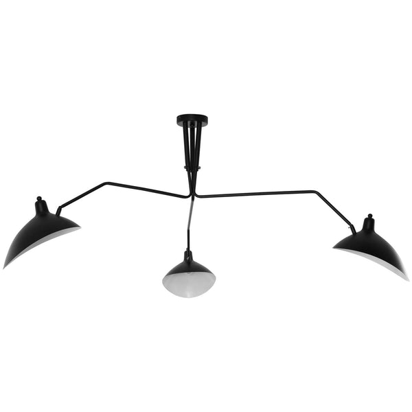 View Ceiling Fixture Black Lamp