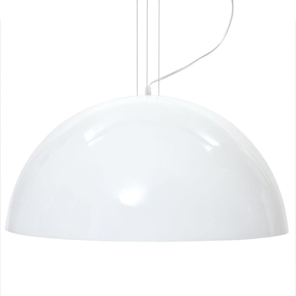 Flow Ceiling Fixture White Lamp
