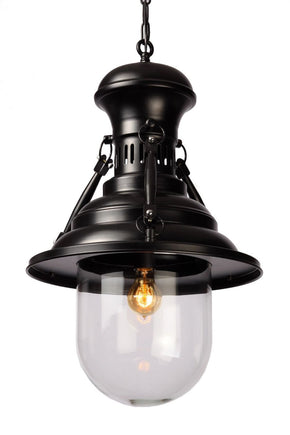 Brandt Pendant Lamp Black Ceiling