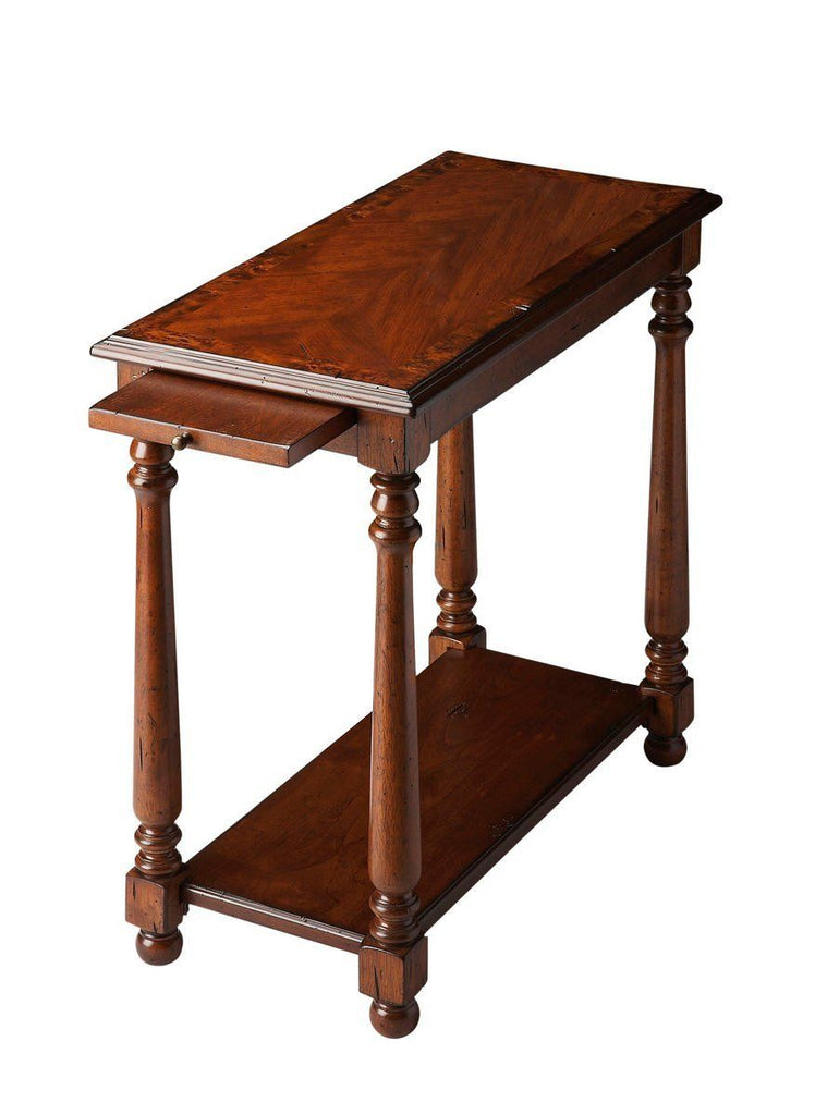 Chairside Chests - Butler Furniture BUT-5017110 Devane Traditional Rectangular Chairside Table Dark Brown | 797379004776 | Only $242.10. Buy today at http://www.contemporaryfurniturewarehouse.com