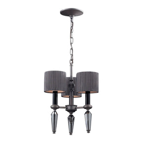 Beaumont 3-Light Chandelier Graphite**