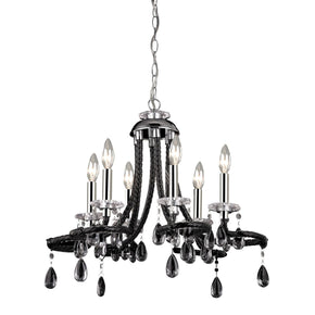 Black Acrylic Mini Chandelier