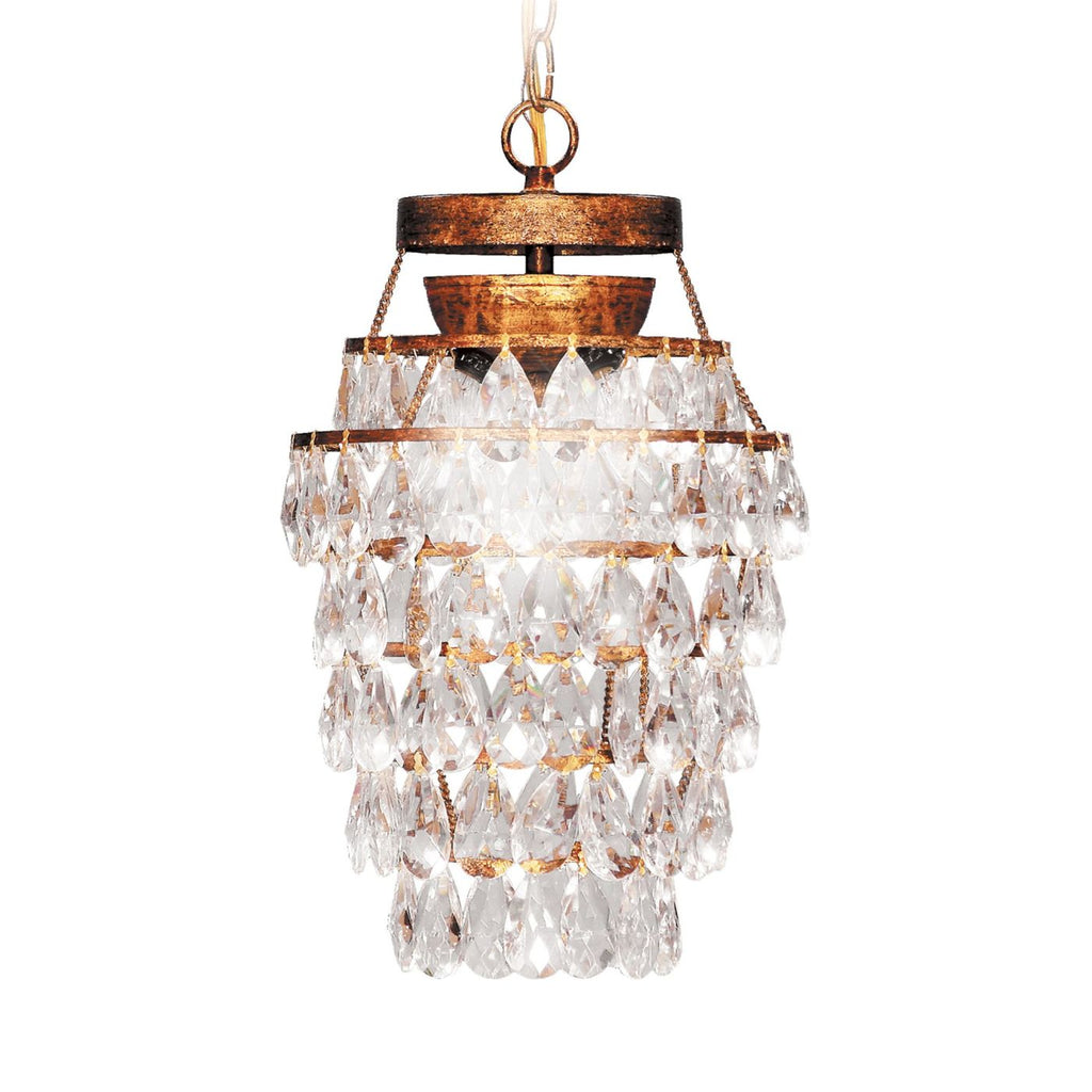 3 Lite Deco Drop Chandelier