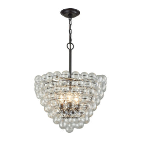 Cuvée Chandelier - Large Oil Rubbed Bronze,clear