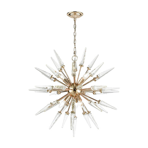 Valkyrie Chandelier Gold,clear Crystal