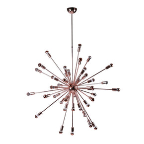 Spark Hanging Chandelier 39 Copper