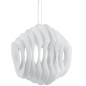 Fish Aluminum Chandelier White