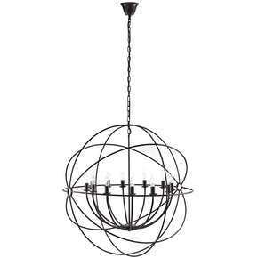 "Chandeliers - Modway EEI-2111-BRN Atom 39.5"" Chandelier 
