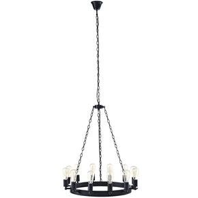 Teleport 29 Chandelier Brown