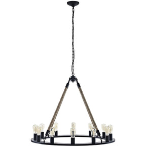 Chandeliers - Modway EEI-2154-BRN Encircle Vintage Modern Chandelier | 889654041351 | Only $454.00. Buy today at http://www.contemporaryfurniturewarehouse.com
