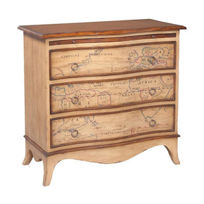 Heritage Three Drawer Chest Blonde