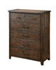 Tearson Transitional 6-Drawer Chest In Espresso