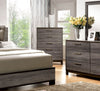 Jurado Contemporary 5-Drawer Chest In Antique Grey
