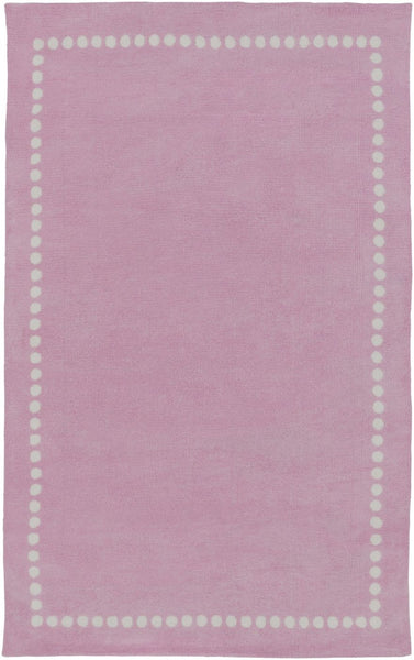 Childrens, Ivory & Whites, Pinks, Rugs - Surya ABI9074-23 Abigail Solids and Borders Area Rug Pink | 888473401353 | Only $54.60. Buy today at http://www.contemporaryfurniturewarehouse.com