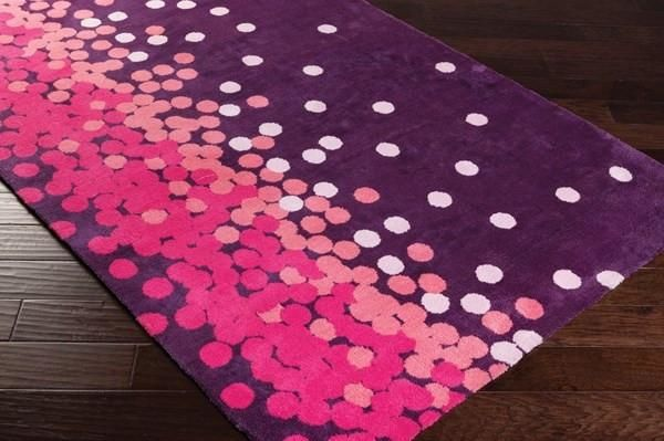 Childrens, Pinks, Purples, Rugs - Surya ABI9053-23 Abigail Kids Area Rug Pink, Purple | 764262842692 | Only $54.60. Buy today at http://www.contemporaryfurniturewarehouse.com