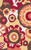 Loloi Angelou Red / Yellow Area Rug