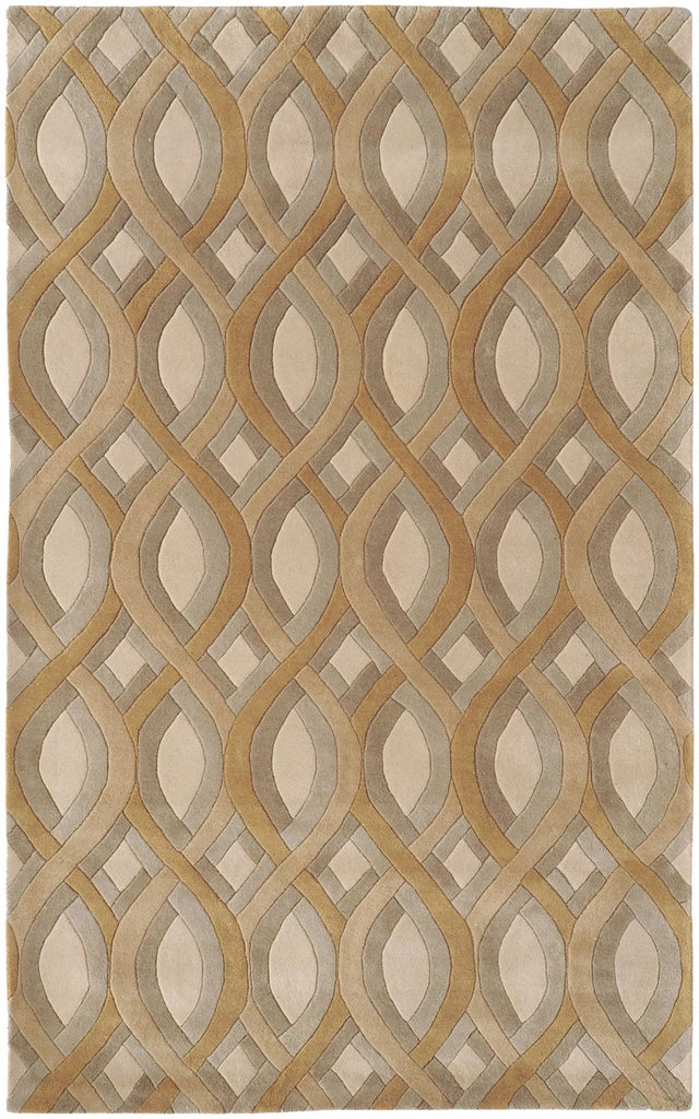Classic, Rugs, Tan & Neutrals - Surya CAN1901-23 Modern Classics Geometric Area Rug Brown, Neutral | 764262141740 | Only $144.60. Buy today at http://www.contemporaryfurniturewarehouse.com