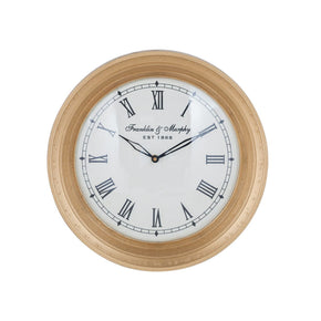 Carfax Crossing Wall Clock Gold