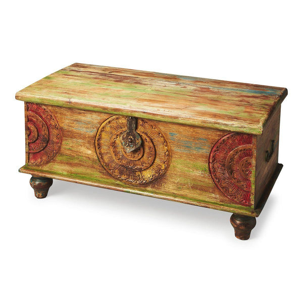 Coffee Tables - Butler Furniture BUT-3140290 Mesa Transitional Rectangular Trunk Cocktail Table | 797379020714 | Only $489.00. Buy today at http://www.contemporaryfurniturewarehouse.com
