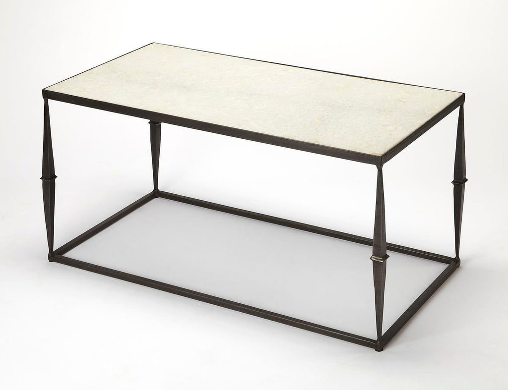 Jacoby Modern Rectangular Cocktail Table Multi-Color Coffee