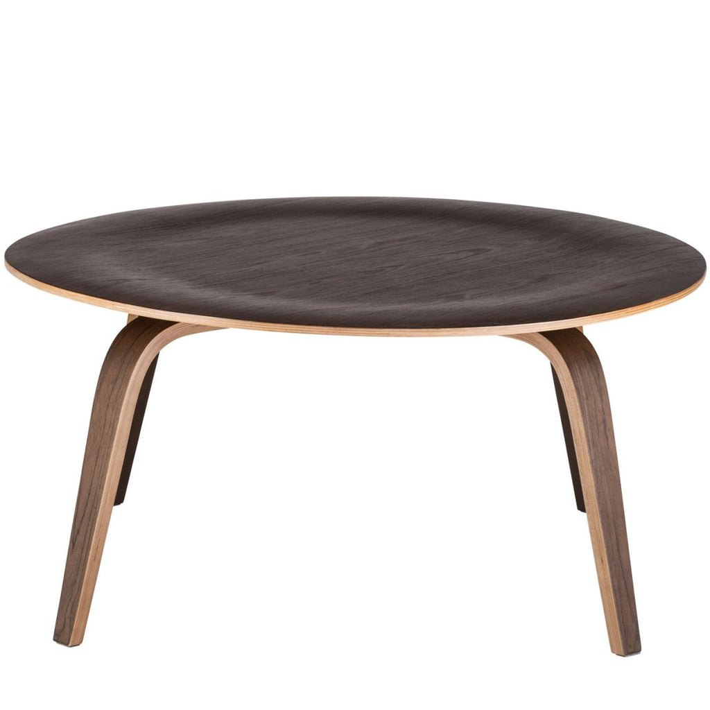 Coffee Tables - EdgeMod EM-185-WAL Isabella Coffee Table in Walnut | 641061724346 | Only $120.80. Buy today at http://www.contemporaryfurniturewarehouse.com