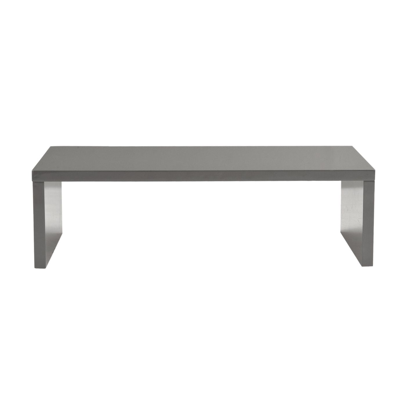 Buy euro style euro 09704gry abby rectangle coffee table - How high is a coffee table ...
