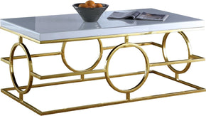 Brooke Gold Coffee Table