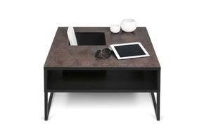 Sigma Coffee Table Oxide Ceramic / Black