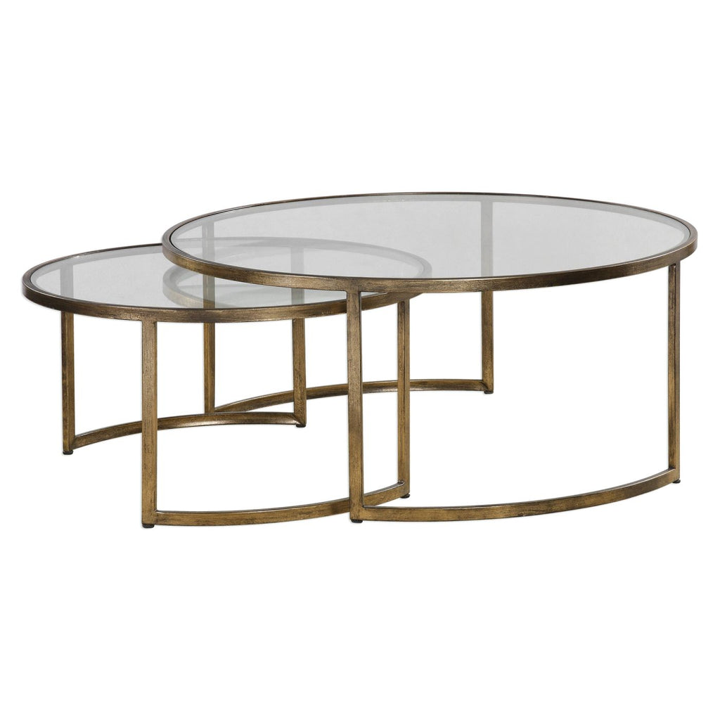 Rhea Nested Coffee Tables S/2 Table