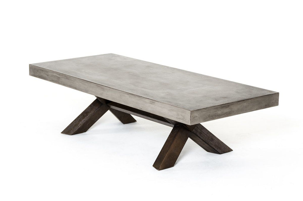 Urban Contemporary Furniture For Modrest Urban Concrete Coffee Table Vig Furniture At Contemporary