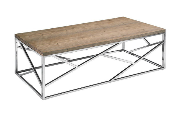 Modrest Jayton Modern Walnut Coffee Table