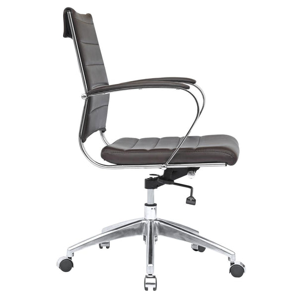 Sopada Conference Office Chair Mid Back Dark Brown
