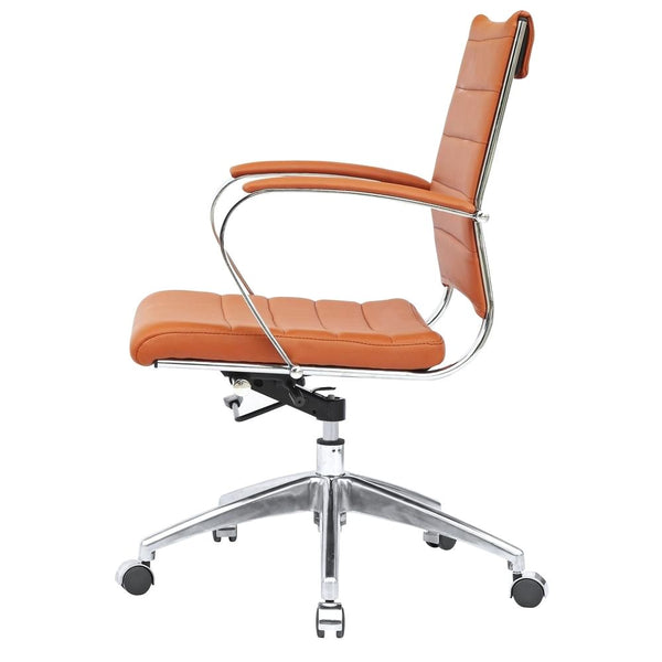 Sopada Conference Office Chair Mid Back Light Brown